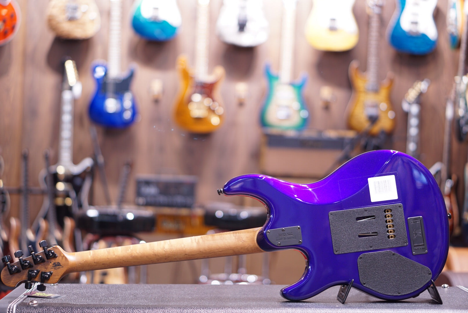 Music Man Luke Hh Firemist Purple - HIENDGUITAR   Musicman GUITAR
