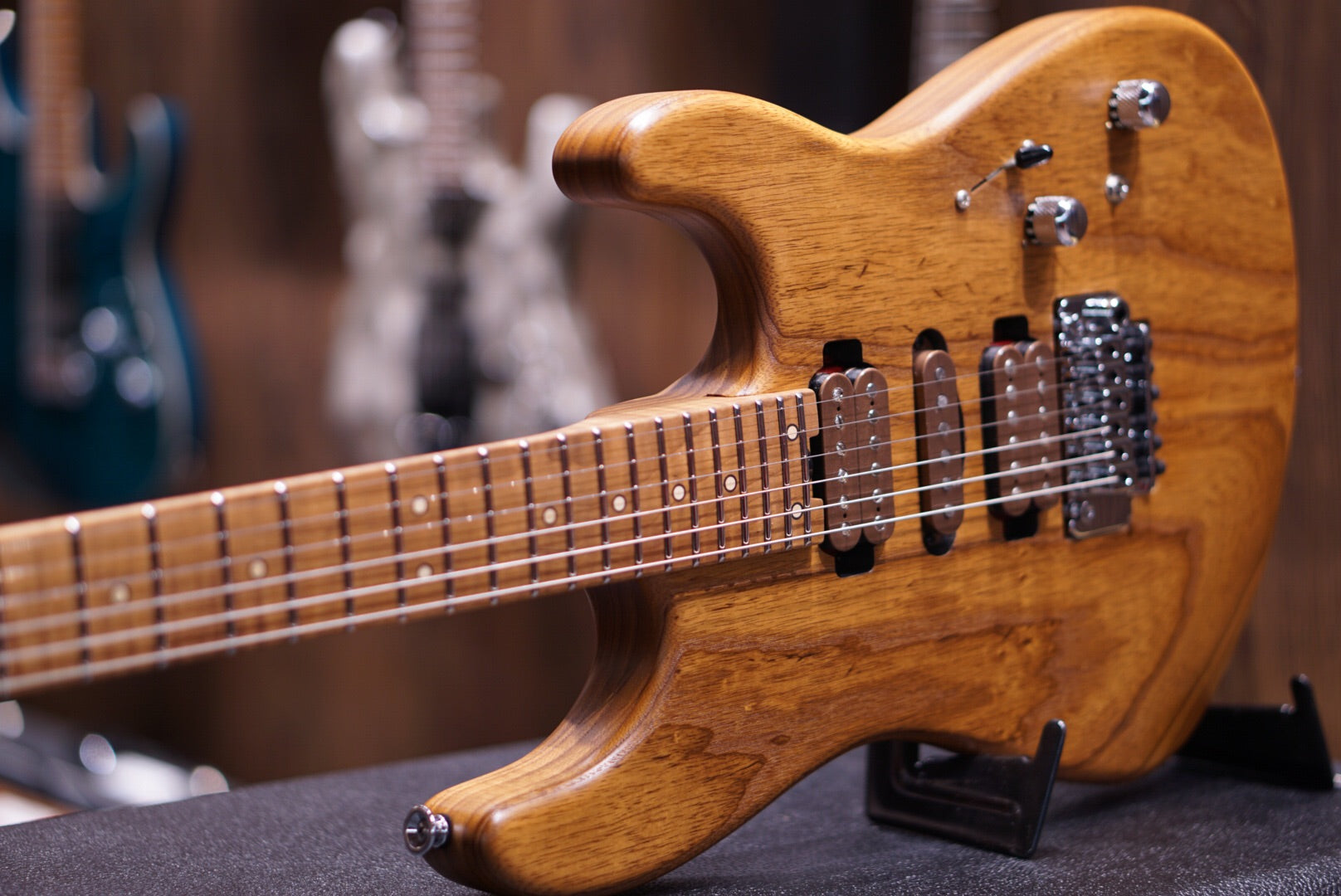 Charvel Guthrie Govan Signature - Natural Birds Eye Maple Charvel - HIENDGUITAR.COM