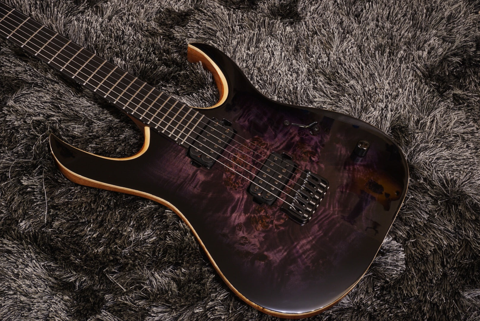 Mayones Duvell dirty purple eye burst eye poplar GLOSS