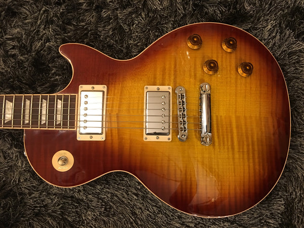 Gibson 2016 Les Paul Standard Plus Top T 61943 Tea Burst