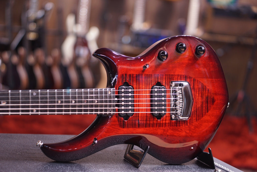 Musicman Majesty monarchy in royal red