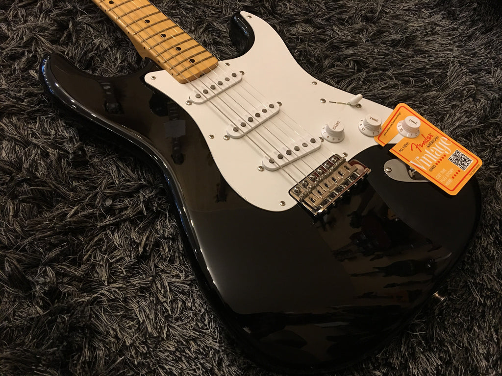 Fender America Vintage 56 stratocaster Black maple 0111502806