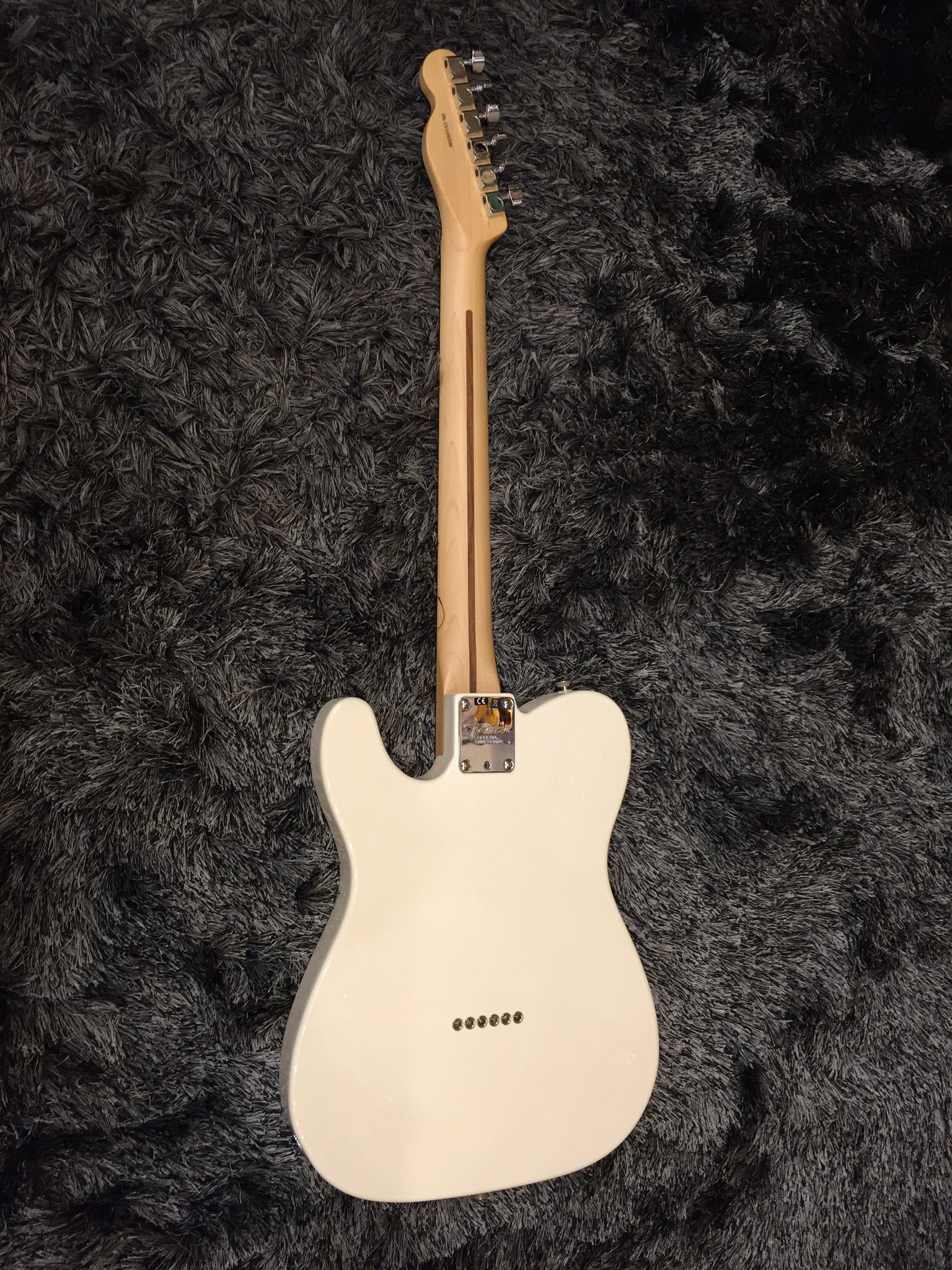 Fender American Professional Telecaster - Olympic White with Rosewood Fingerboard 2596