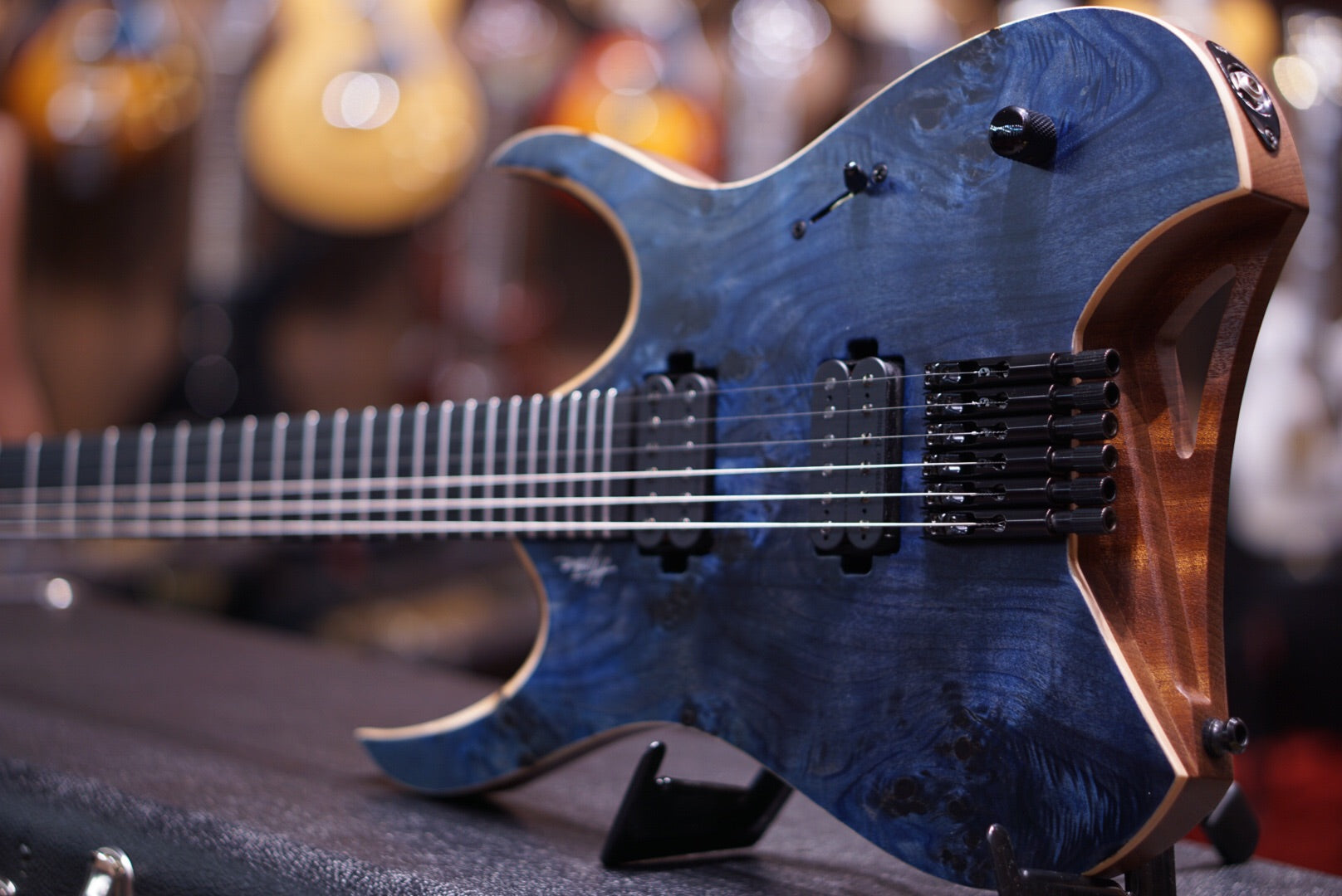 Mayones Hydra Elite Eye Poplar Dirty blue mayones - HIENDGUITAR.COM