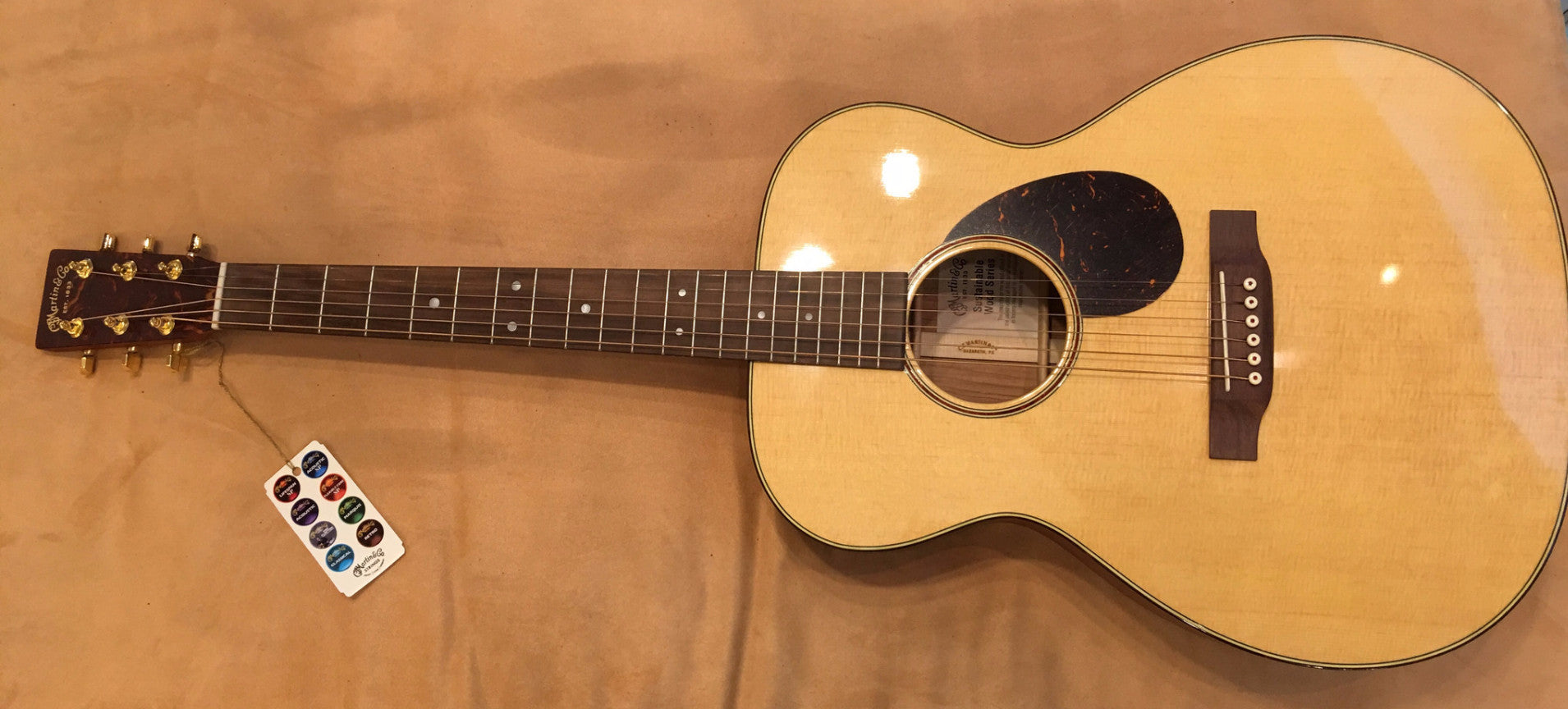 Martin SWOMGT Sustainable Wood - Natural - HIENDGUITAR   HIENDGUITAR.COM GUITAR