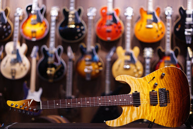 Anderson angel tobacco burst w binding on mahoganybody Anderson - HIENDGUITAR.COM