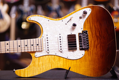 Anderson drop top classic tobacco burst surf with binding - HIENDGUITAR.COM