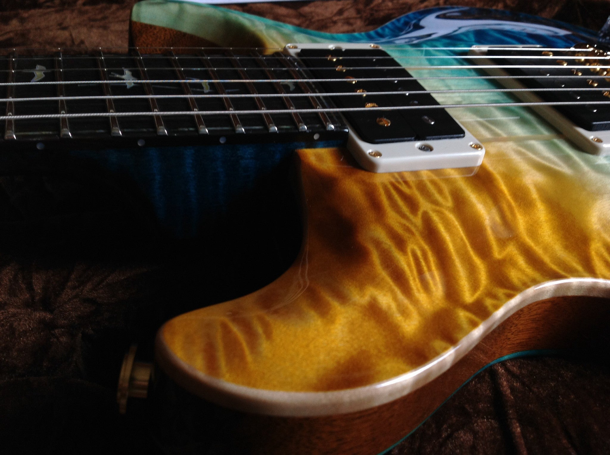 prs-santana-beach-fade-private-stock indonesia