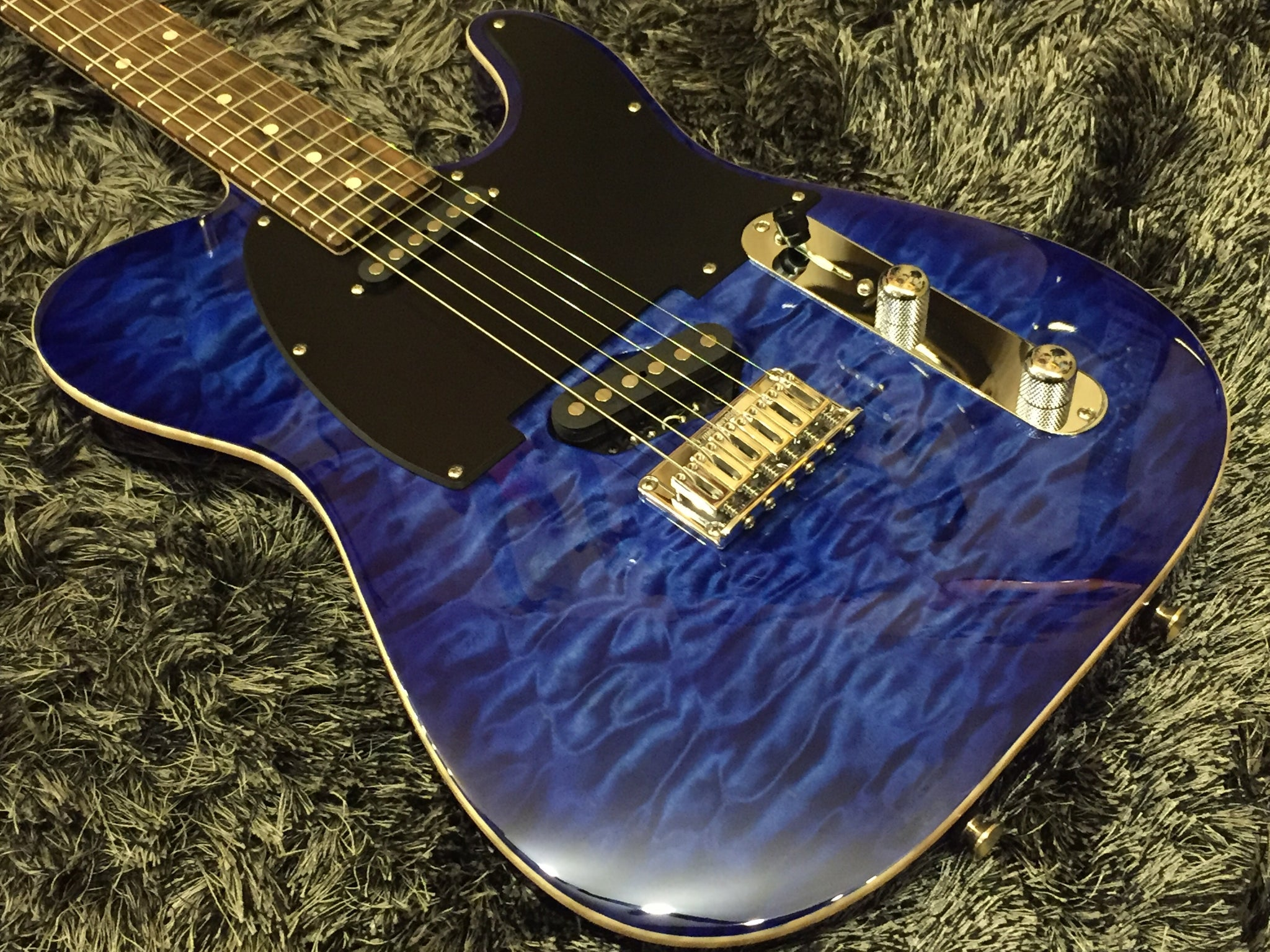Tom Anderson Top T Classic Jack's Pacific Blue Burst