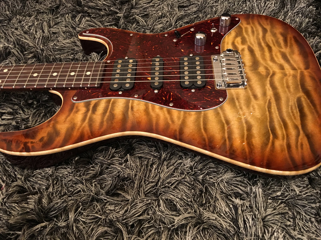Tom Anderson Drop top classic Light tiger burst