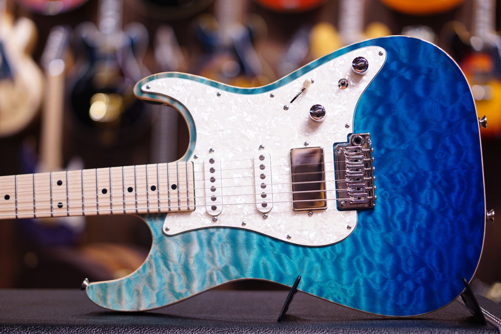 Anderson drop top classic bora blue surf with binding