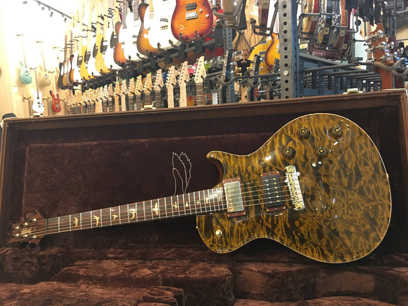 PRS Private stock Light tiger eye quilt 14K