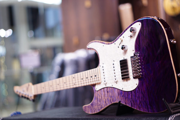 Anderson drop top classic purple surf with binding
