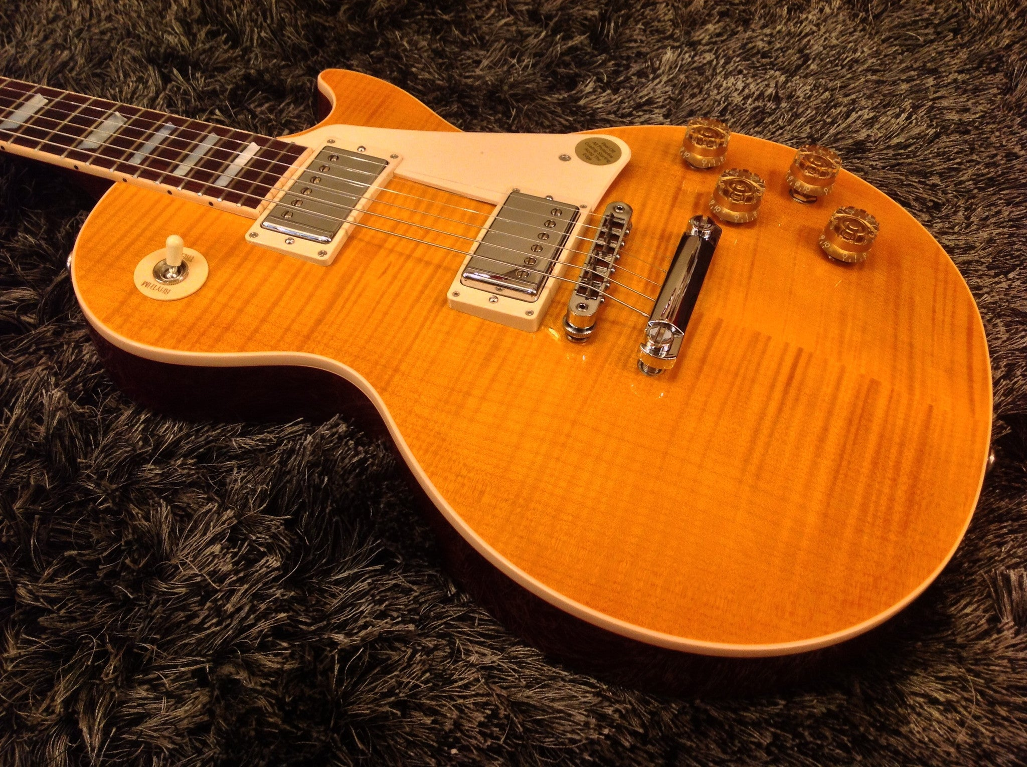 LP Standard 2015 RS Trans Amber Sprint Run *Ltd Edition* Gibson - HIENDGUITAR.COM