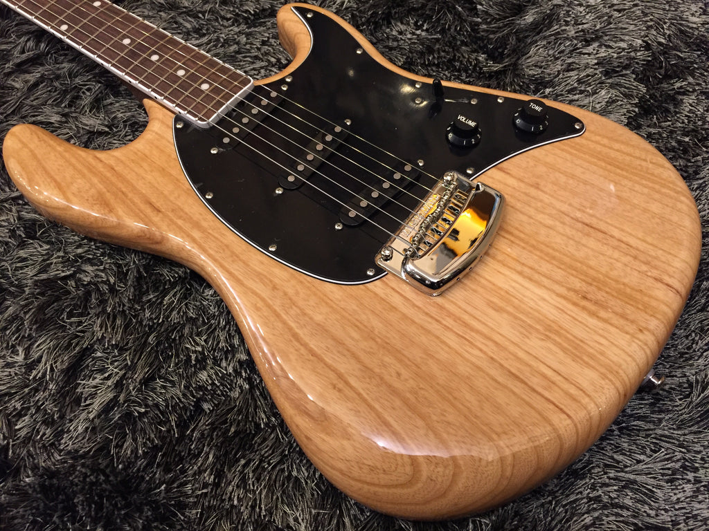 Music Man BFR Cutlass Guitar Natural w/Rosewood Neck