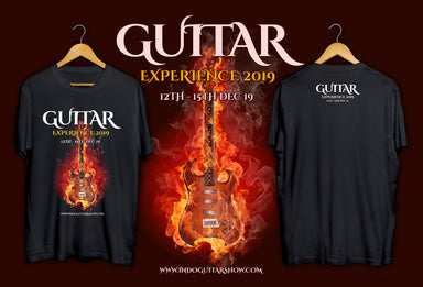 T-Shirt Guitar Experience 2019 FREE w Minimum purchase Rp400,000 COUPON EXPTSHIRT HIENDGUITAR.COM - HIENDGUITAR.COM