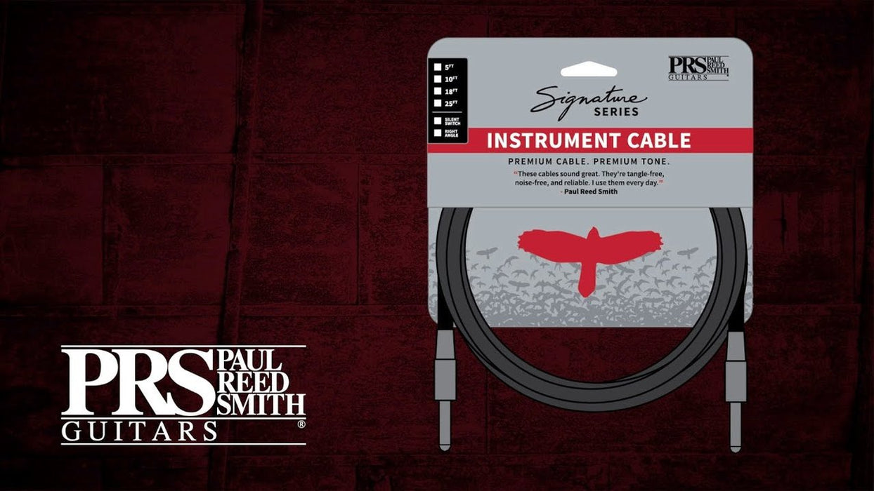 PRS Signature Instrument Cables
