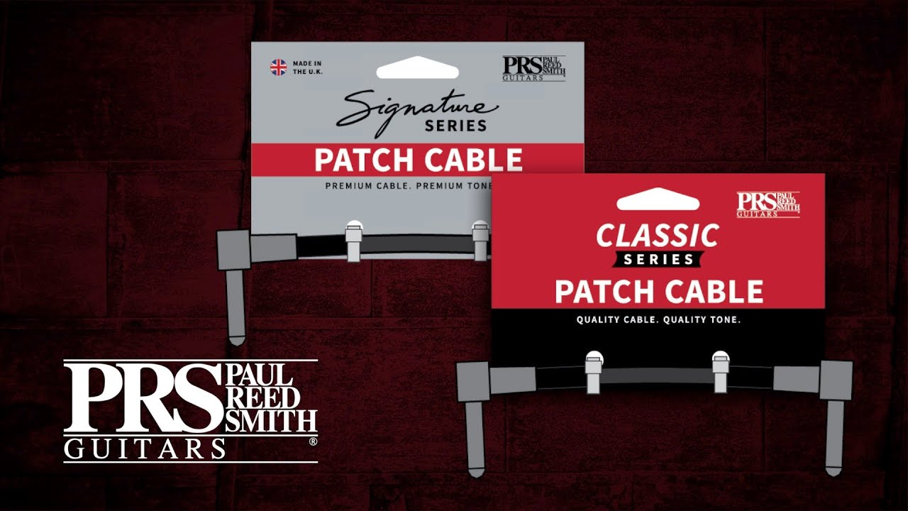 PRS New 2020 Spec 6inch Classic Patch cable (2) PRS - HIENDGUITAR.COM
