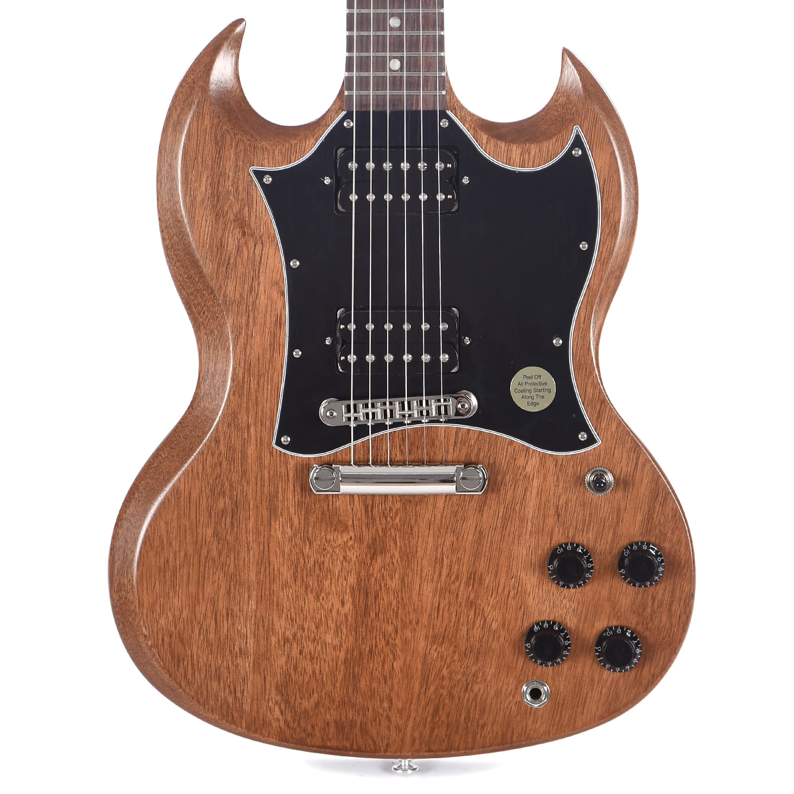 Gibson SG Tribute Natural Walnut SGTR005NNH1 Indonesia 2019 Gibson - HIENDGUITAR.COM