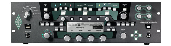 Kemper Profiler Power Rack - 600-watt Rackmount Profiling Amp Head