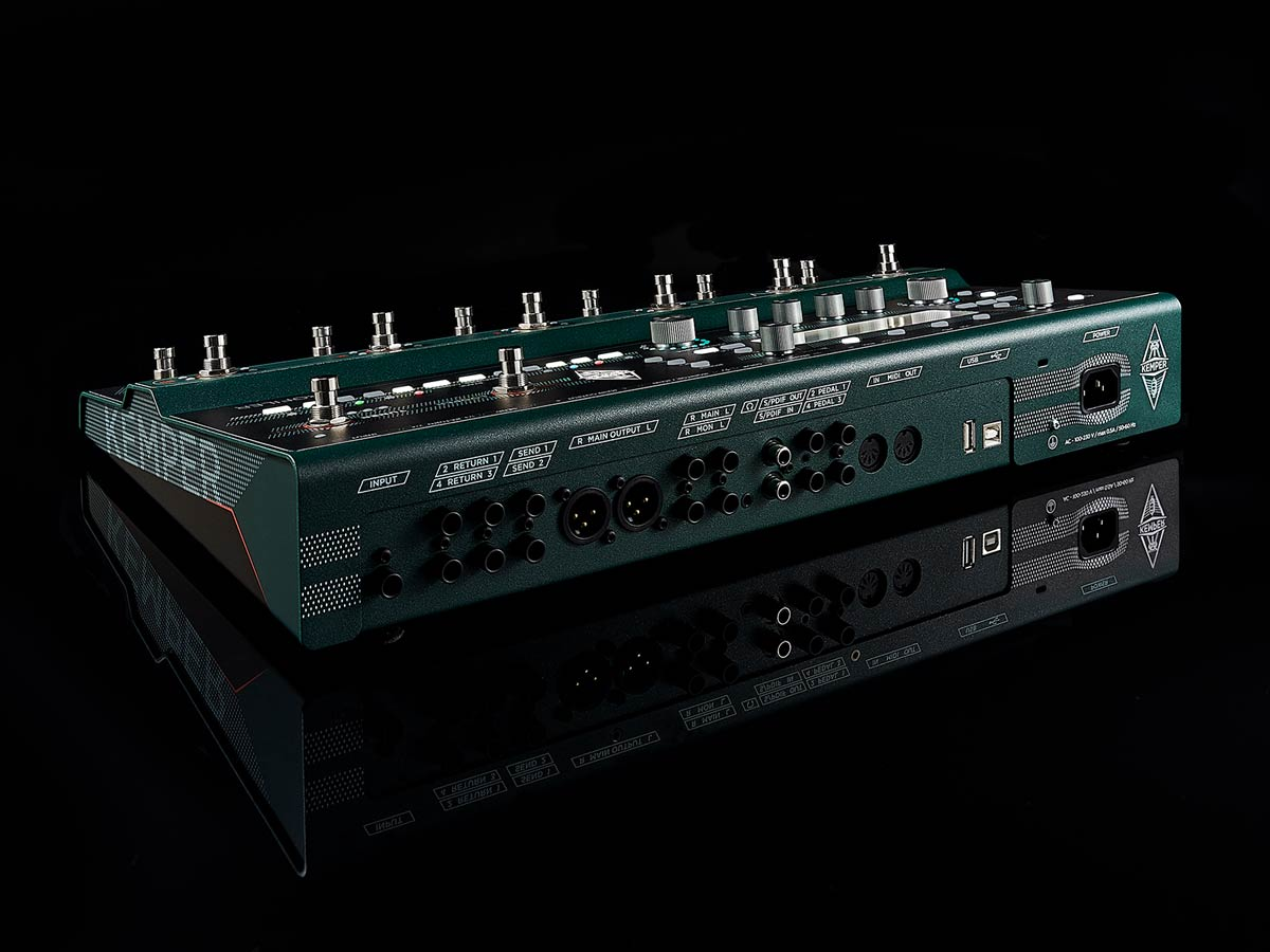 KEMPER PROFILER STAGE – THE PROFILER FLOORBOARD Kemper - HIENDGUITAR.COM