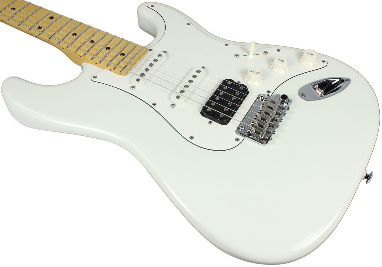 Suhr Classic Pro Olympic White Maple  fingerboard, HSS JST4N5P