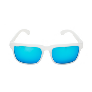 All White (Blue Lenses)