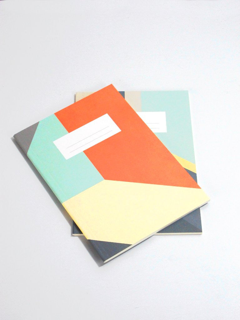 Poketo Color Block Notebook
