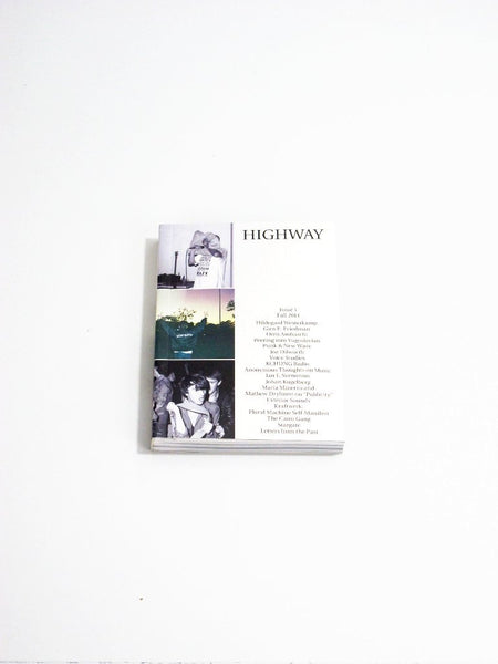 HIGHWAY, Issue 1
