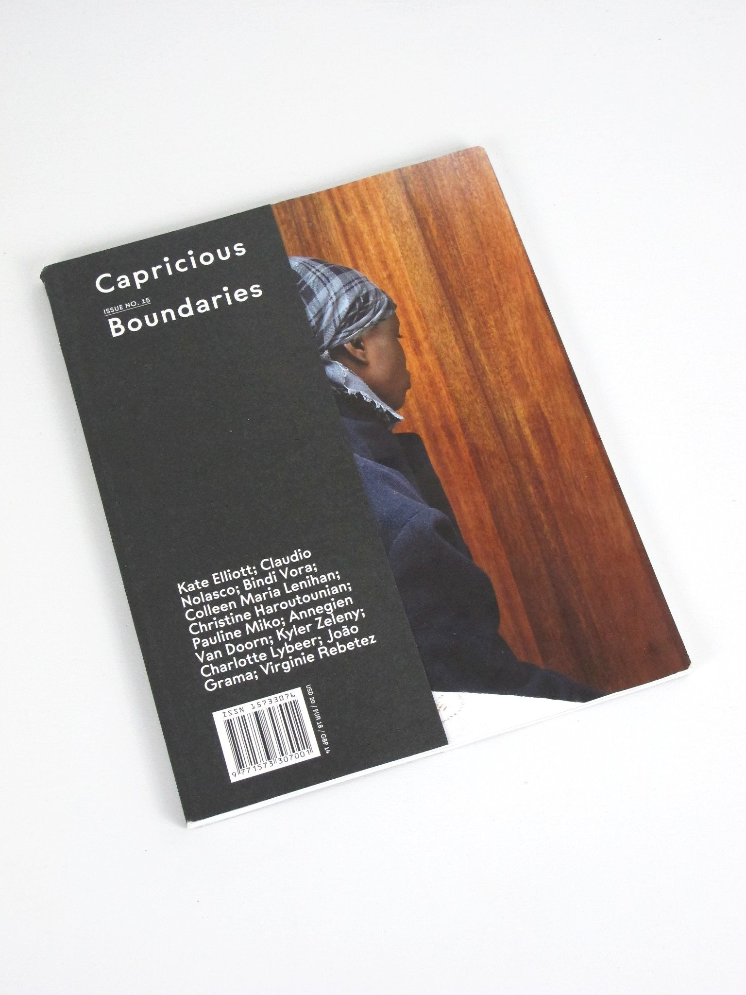 Capricious Issue No. 15, Boundaries