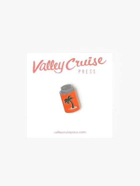 Chill Coozy Lapel Pin Valley Cruise Press