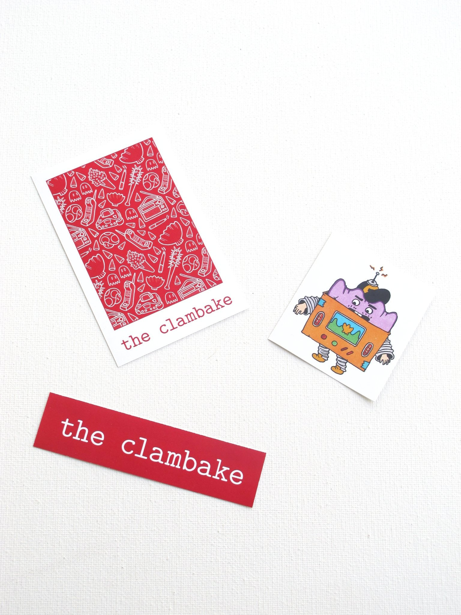 The Clambake issue iii Stickers