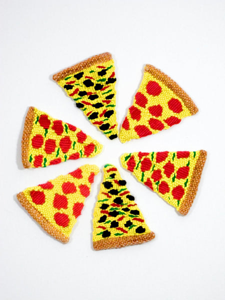 Woven Pizza Slices
