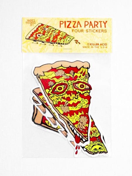 Pizza Party Sticker Pack