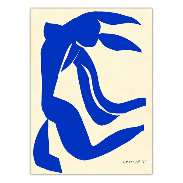 Home Decoration Print Canvas Art Wall Pictures Poster Canvas Printings Paintings French Henri Matisse Blue Nude - Mia & Stitch