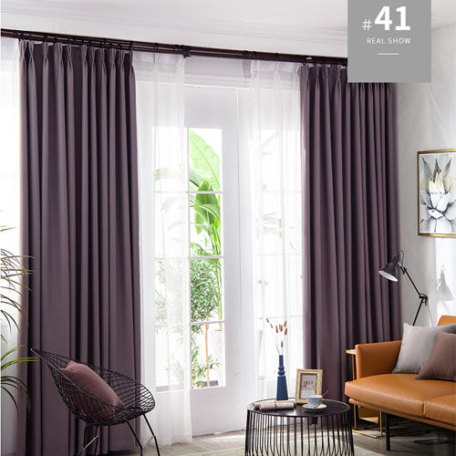 LISM Blackout Curtains For Living Room Window Curtains Kitchen Modern Thick Curtains Window treatment Home Decoration 1 2 - Mia & Stitch