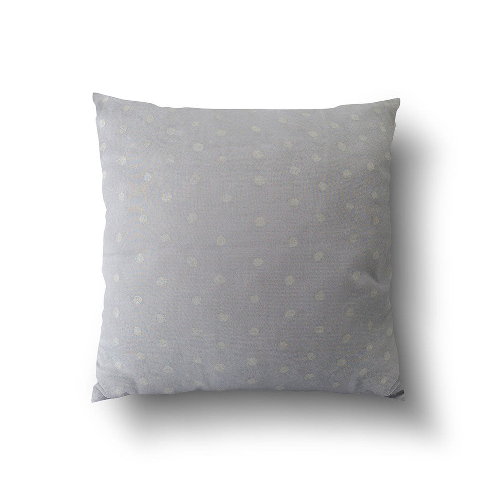 Cushion Cover - Baby Blue with Silver Dotty designed by Nani Iro - Mia & Stitch