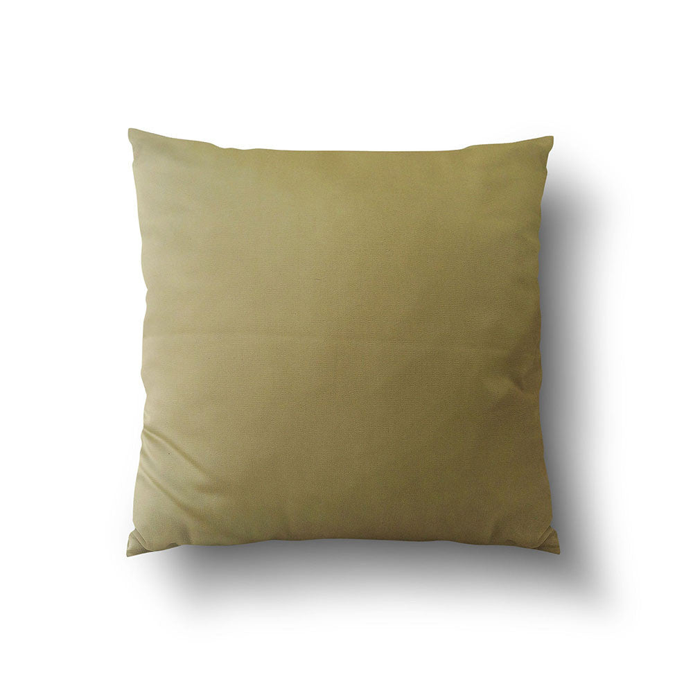 Cushion Cover - Luxury Solid Green - Mia & Stitch