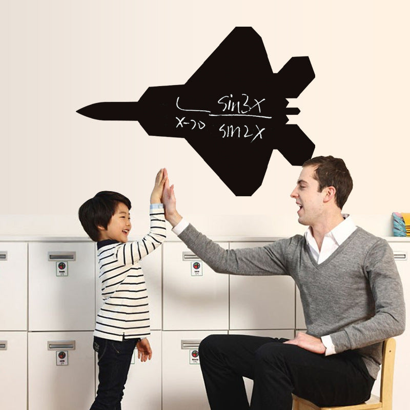 Airplane Chalkboard Blackboard Removable Decal Gifts Boy Room Wall Art Poster Decorative Print Kids Decor - Mia & Stitch