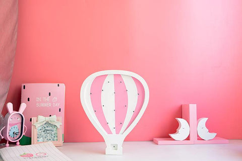 Air Balloon Light for Kids Rooms - Mia & Stitch