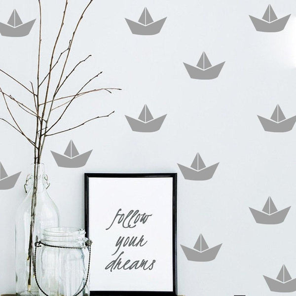 Boat Wall Decals Wall Stickers for Kids Rooms - Mia & Stitch