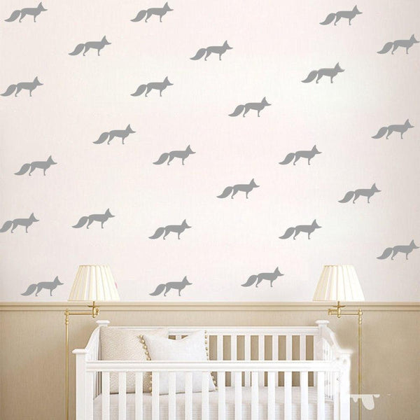 Fox Wall Decals Wall Stickers for Kids Rooms - Mia & Stitch
