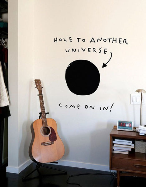 Hole to Another Universe Wall Decals Wall Stickers for Kids Rooms - Mia & Stitch