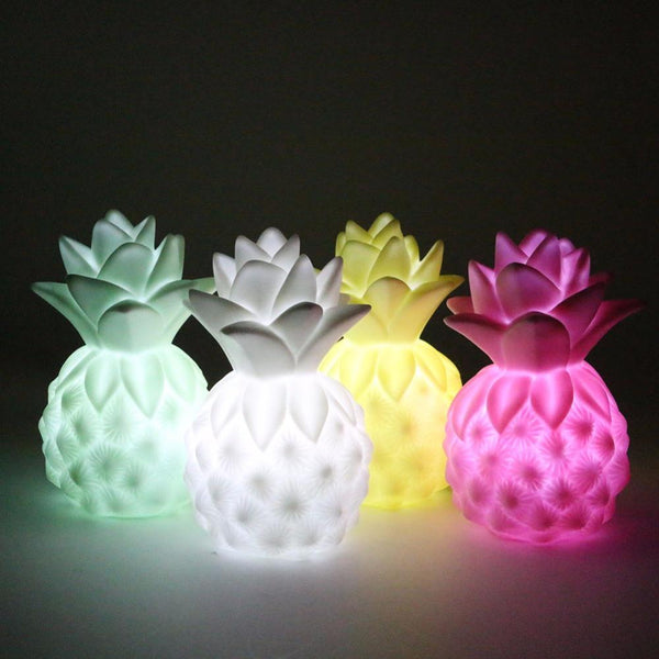 Pineapple Night Light for Kids Rooms - Mia & Stitch