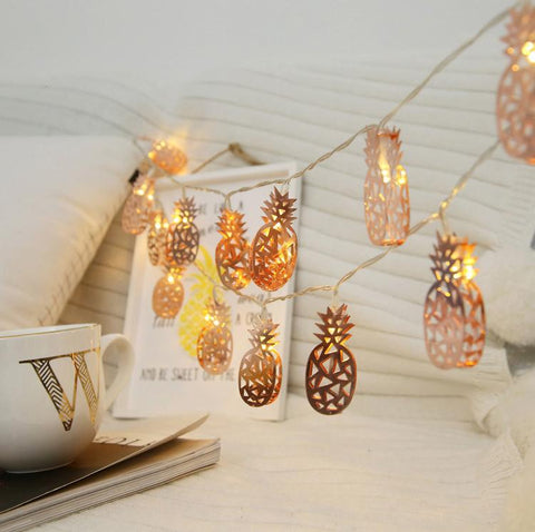 Pineapple String | Night Light for Kids Rooms - Mia & Stitch