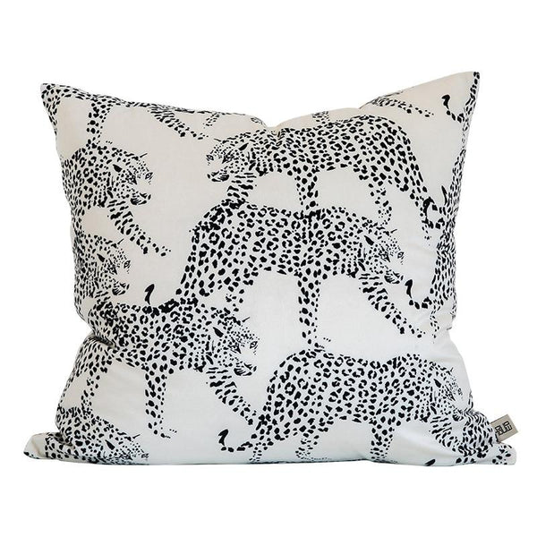Cushion Cover Decorative Pillow Case Modern Animal Collection Leopard Print Soft Velvet Coussin Sofa Chair Decorating - Mia & Stitch