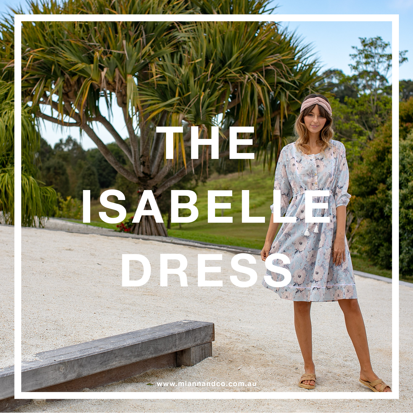 isabelle dress rose print