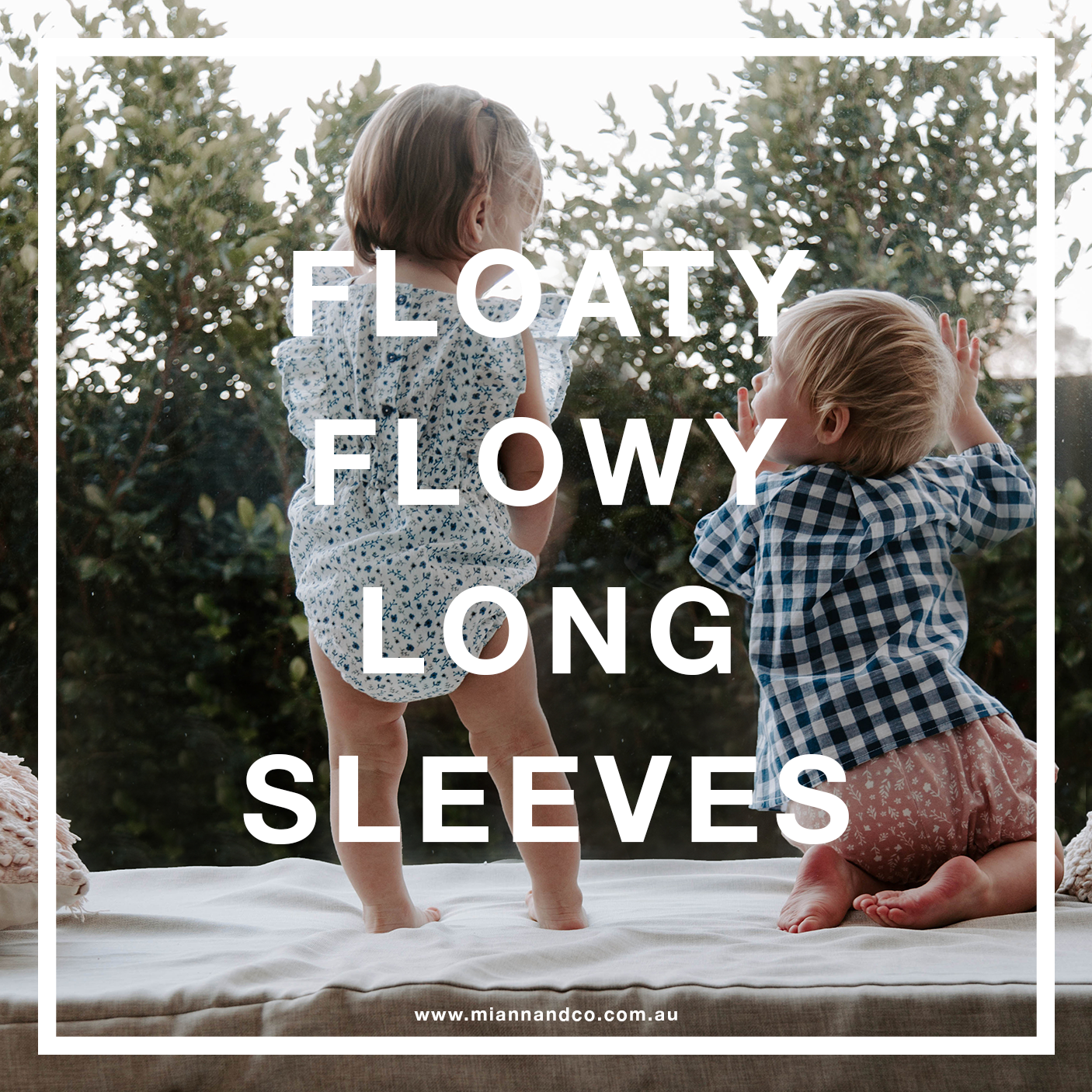 FLOATY FLOWY LONG SLEEVES
