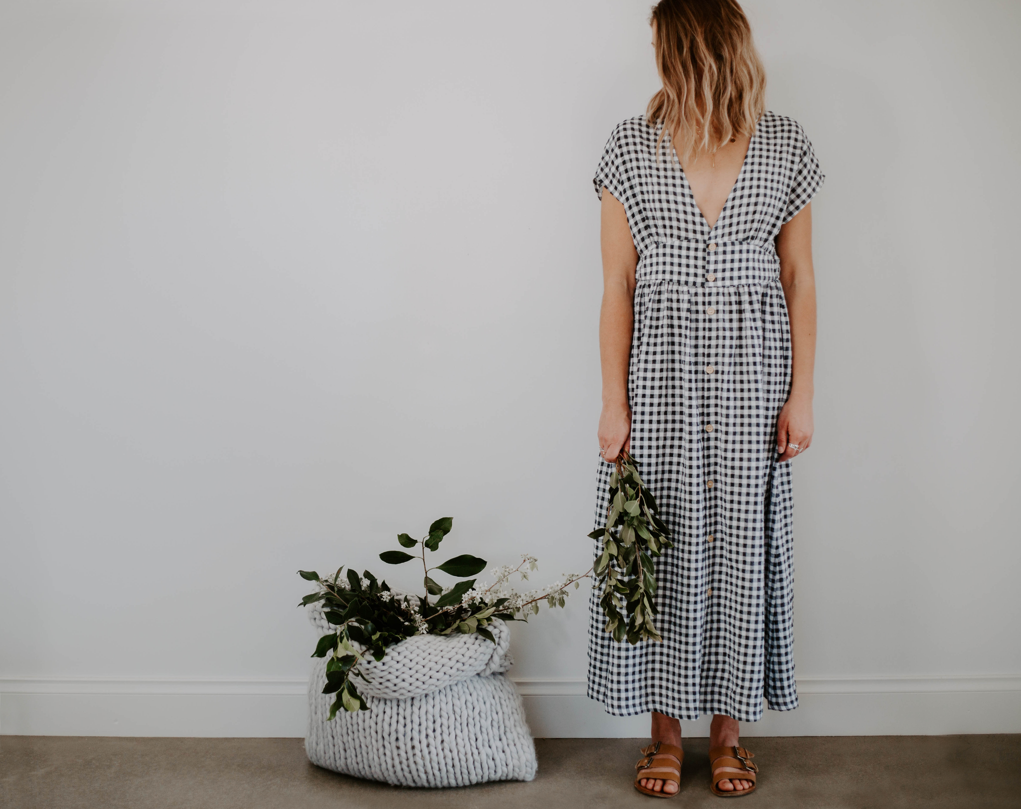NICOLA DRESS GINGHAM
