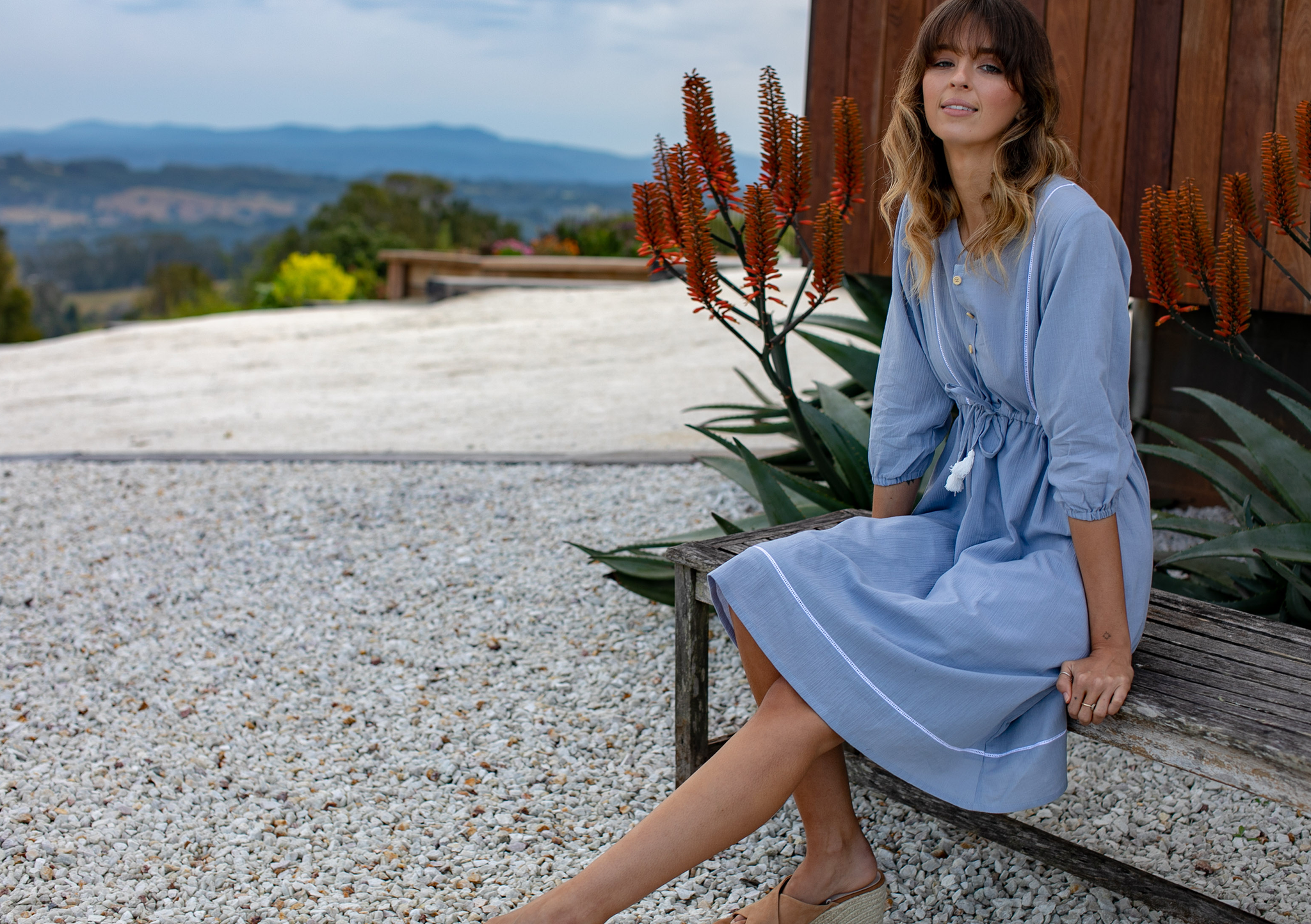 isabelle dress chambray